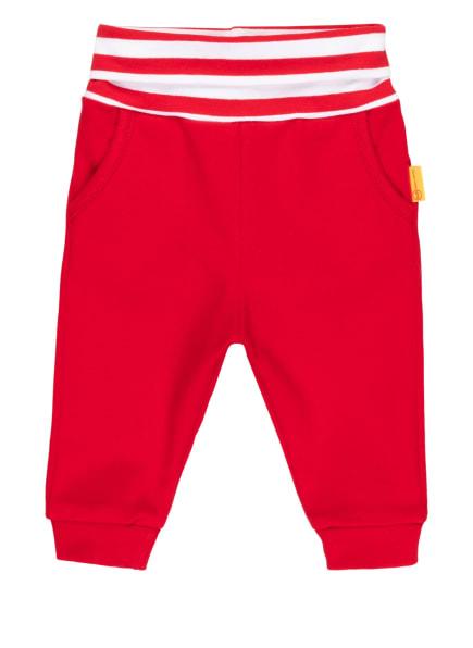 Steiff Sweatpants , Farbe: ROT/ WEISS (Bild 1)