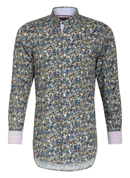 TOMMY HILFIGER Hemd Slim Fit, Farbe: DUNKELBLAU/ BLAU/ WEISS (Bild 1)