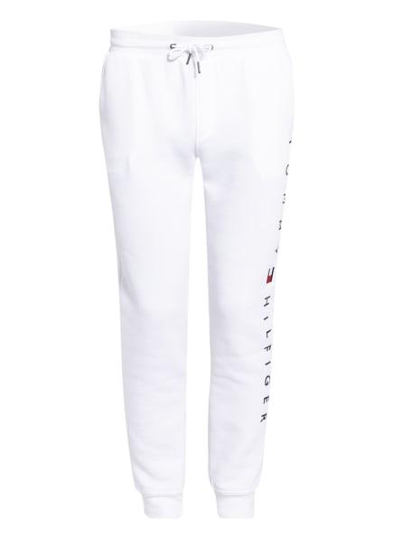 TOMMY HILFIGER Sweatpants Regular Fit, Farbe: WEISS/ BLAU/ ROT (Bild 1)