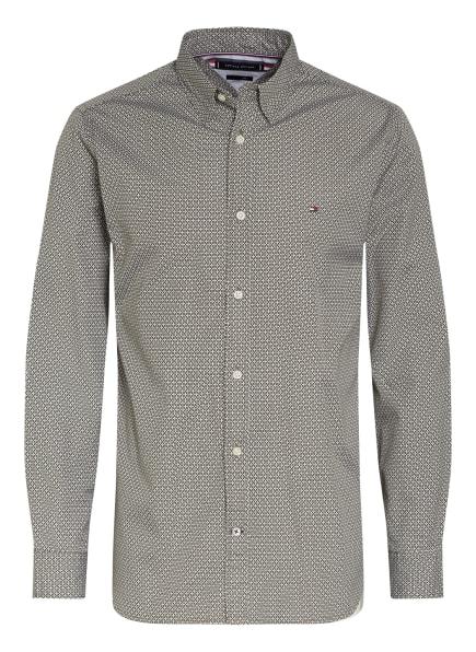 TOMMY HILFIGER Hemd Regular Fit, Farbe: OLIV/ WEISS (Bild 1)