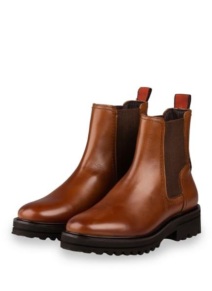 Marc O'Polo Chelsea-Boots, Farbe: HELLBRAUN (Bild 1)