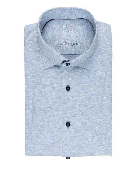 OLYMP Jerseyhemd Level Five 24/7 body fit, Farbe: HELLBLAU MELIERT (Bild 1)