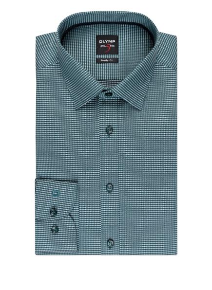 OLYMP Hemd Level Five body fit , Farbe: PETROL/ WEISS (Bild 1)