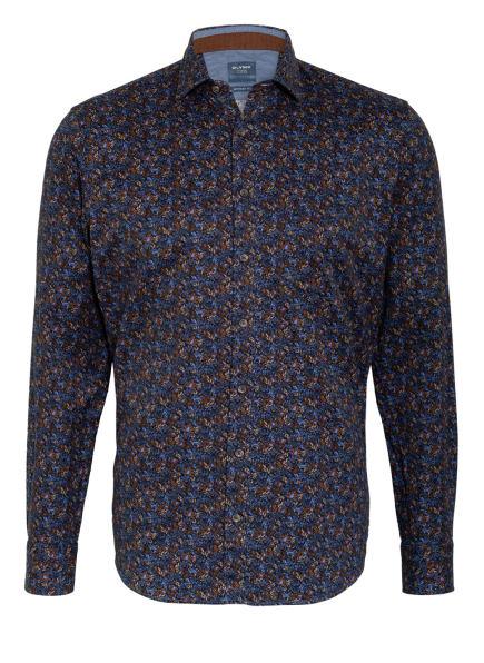 OLYMP Hemd Casual Modern Fit , Farbe: BLAU/ BRAUN (Bild 1)