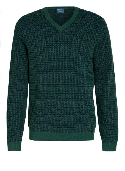 OLYMP Pullover , Farbe: DUNKELGRÜN/ DUNKELBLAU (Bild 1)