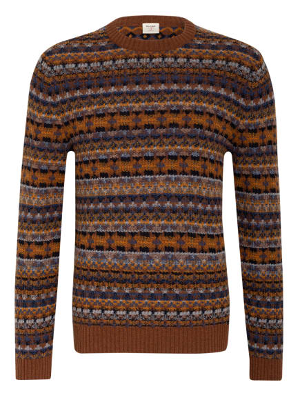 OLYMP Pullover , Farbe: BRAUN/ GELB (Bild 1)