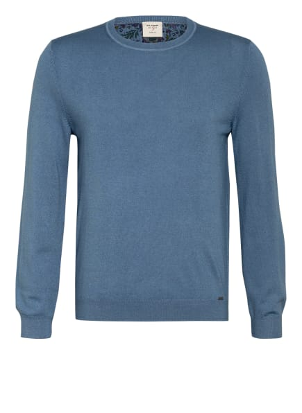 OLYMP Pullover, Farbe: HELLBLAU (Bild 1)