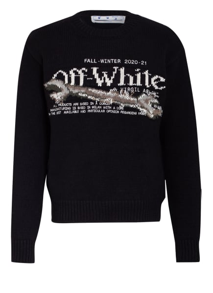 OFF-WHITE Pullover PASCAL TOOL, Farbe: SCHWARZ/ WEISS (Bild 1)