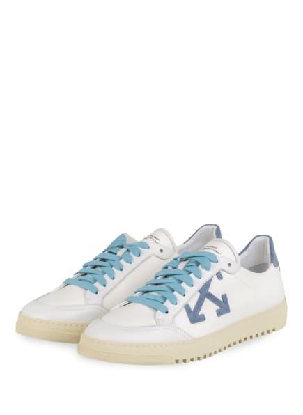OFF-WHITE Sneaker 2.0, Farbe: WEISS/ BLAUGRAU/ HELLBLAU (Bild 1)