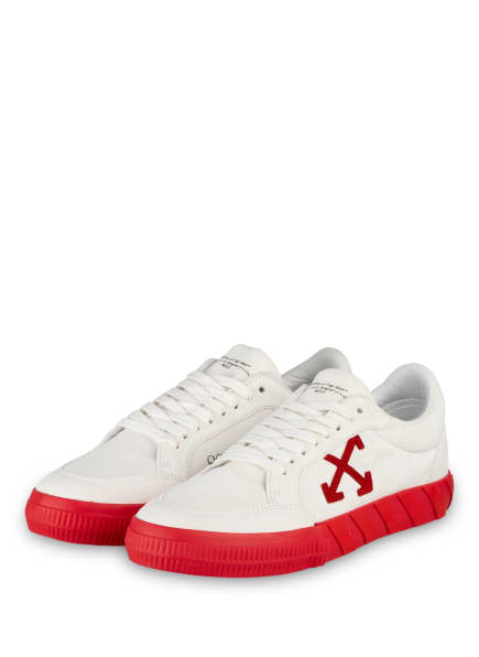 OFF-WHITE Sneaker , Farbe: WEISS/ ROT (Bild 1)