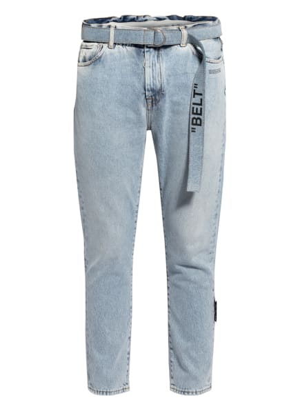 Off-White Jeans Slim Fit, Farbe: BLEACH BLACK (Bild 1)