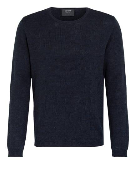 OLYMP SIGNATURE Pullover mit Alpaka, Farbe: DUNKELBLAU (Bild 1)