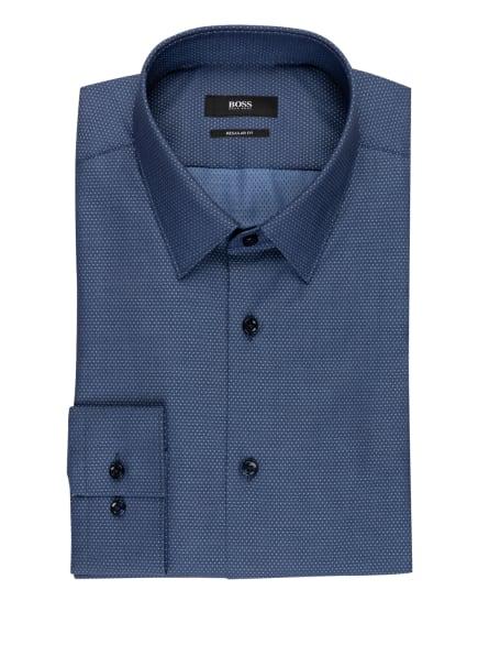 BOSS Hemd ELIOTT Regular Fit, Farbe: DUNKELBLAU/ HELLBLAU (Bild 1)