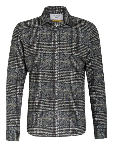 NEW IN TOWN Jerseyhemd Regular Fit , Farbe: HELLGELB/ DUNKELBLAU (Bild 1)