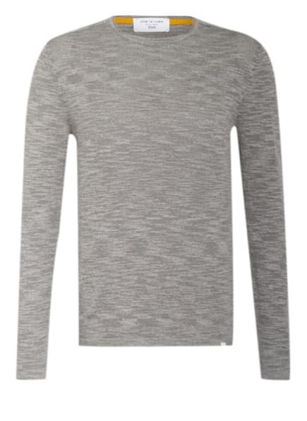 NEW IN TOWN Pullover , Farbe: HELLGRAU MELIERT (Bild 1)