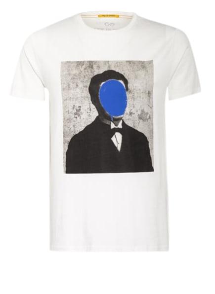 NEW IN TOWN T-Shirt , Farbe: CREME/ SCHWARZ/ BLAU (Bild 1)