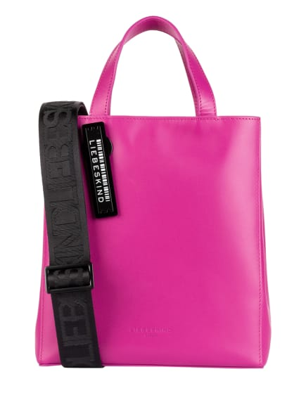 LIEBESKIND Berlin Handtasche PAPERBAG , Farbe: FUCHSIA (Bild 1)
