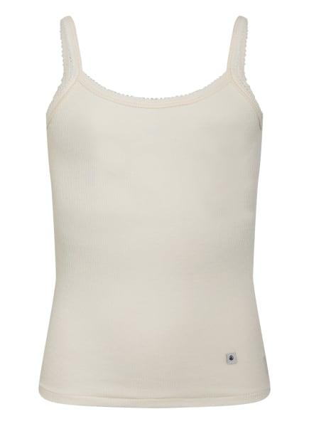 PETIT BATEAU Unterhemd, Farbe: WEISS (Bild 1)