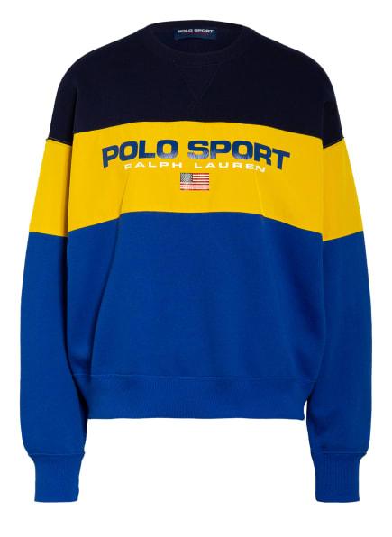 POLO RALPH LAUREN Sweatshirt, Farbe: BLAU/ DUNKELGELB/ DUNKELBLAU (Bild 1)