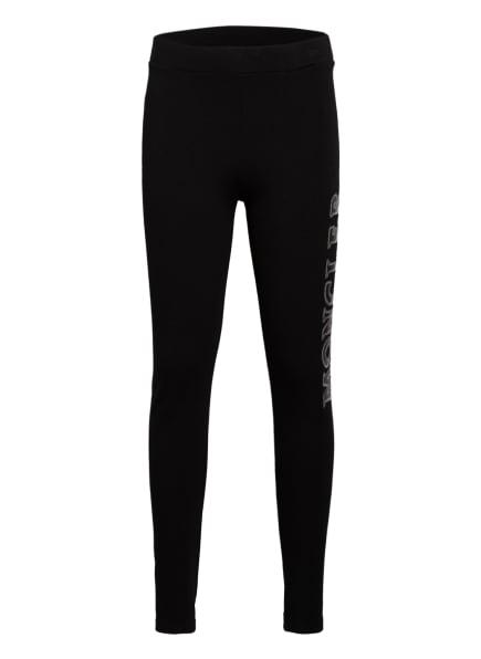 MONCLER enfant Sweatpants mit Paillettenbesatz, Farbe: SCHWARZ (Bild 1)