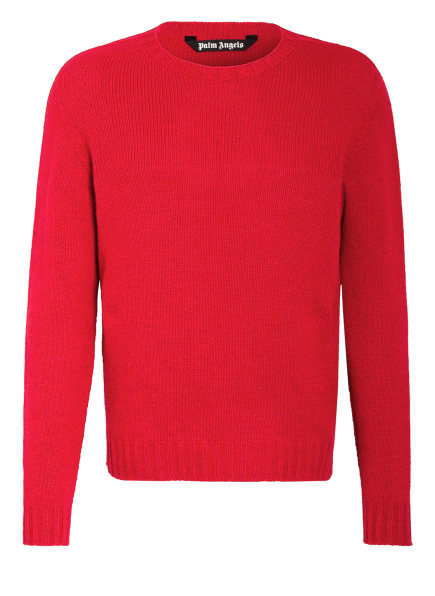 Palm Angels Pullover, Farbe: ROT/ WEISS (Bild 1)