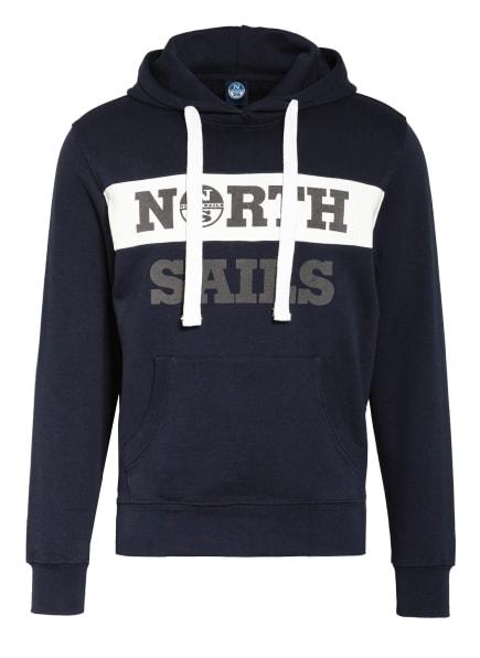 NORTH SAILS Hoodie , Farbe: BLAU/ WEISS (Bild 1)