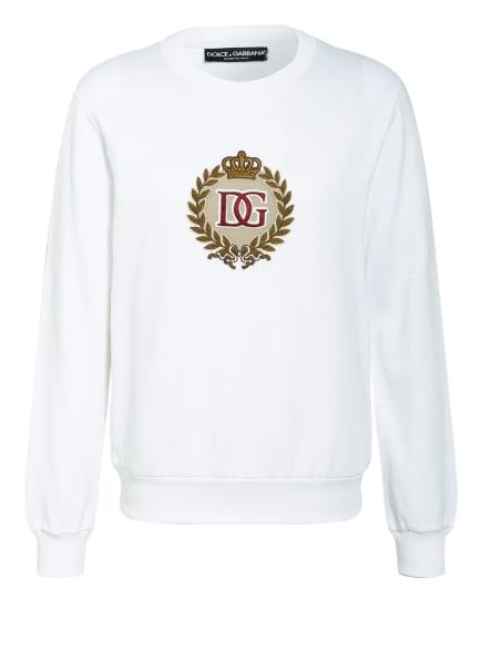 DOLCE&GABBANA Sweatshirt , Farbe: WEISS (Bild 1)