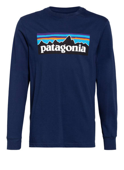 patagonia Longsleeve, Farbe: BLAU (Bild 1)
