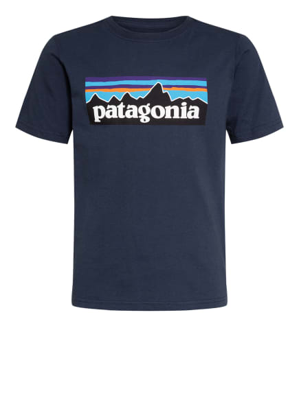 patagonia T-Shirt, Farbe: DUNKELBLAU (Bild 1)