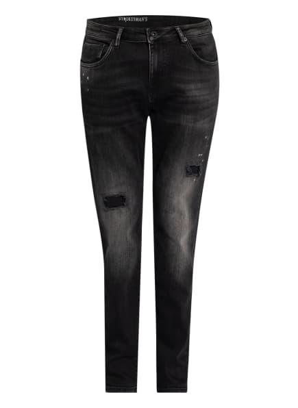 STROKESMAN'S Jeans Slim Fit , Farbe: BLACK USED (Bild 1)