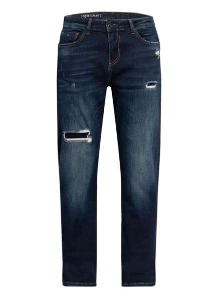 STROKESMAN'S Jeans Slim Fit , Farbe: DARK BLUE USED (Bild 1)
