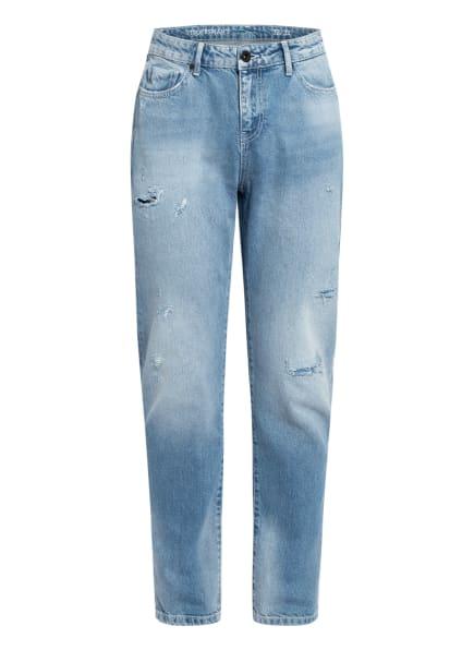 STROKESMAN'S Destroye Jeans Slim Fit , Farbe: MID BLUE USED (Bild 1)