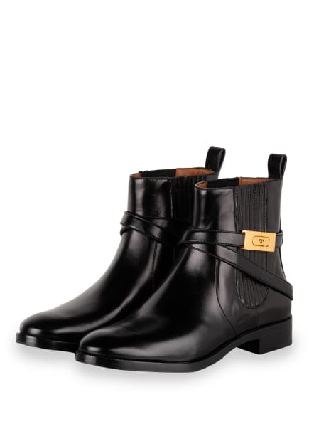 TORY BURCH Chelsea-Boots, Farbe: SCHWARZ (Bild 1)