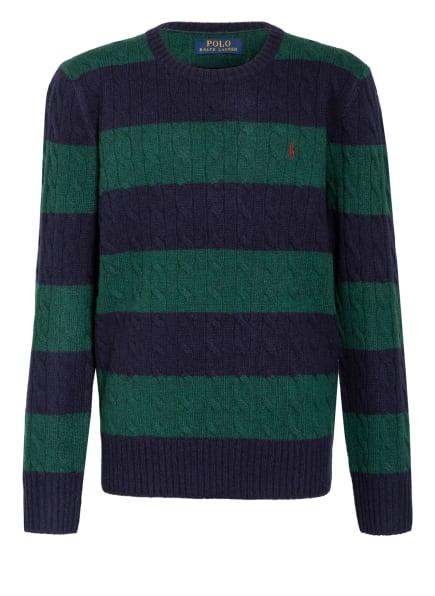 POLO RALPH LAUREN Pullover, Farbe: DUNKELBLAU/ DUNKELGRÜN (Bild 1)