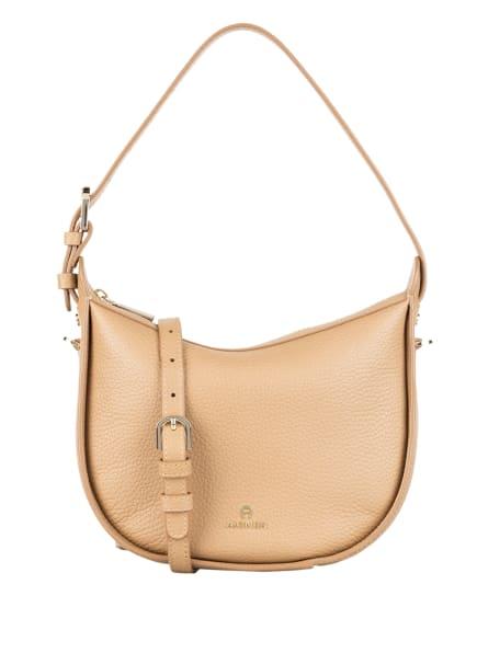 AIGNER Hobo-Bag IVY SMALL, Farbe: BEIGE (Bild 1)