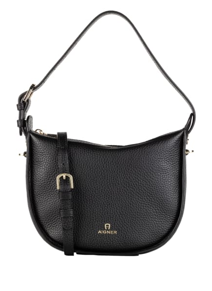 AIGNER Hobo-Bag IVY SMALL, Farbe: SCHWARZ (Bild 1)