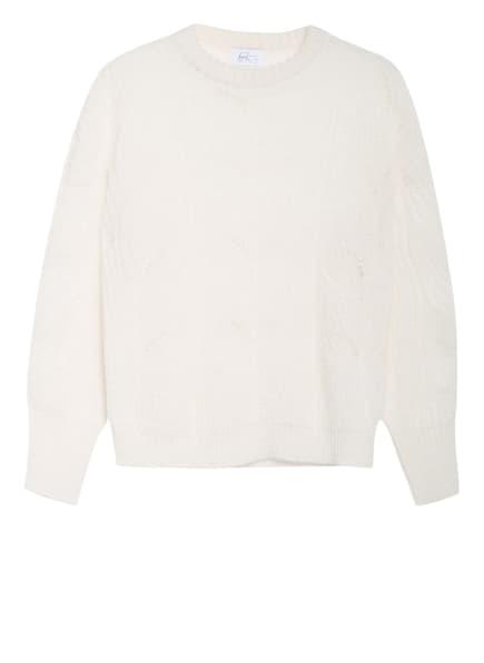 heart MIND Pullover KADIR mit Alpaka, Farbe: WEISS (Bild 1)
