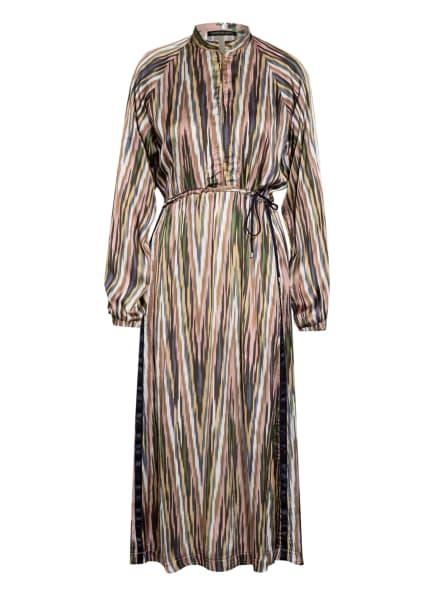 twenty six peers Kleid mit Galonstreifen, Farbe: ROSÉ/ GRÜN/ WEISS (Bild 1)
