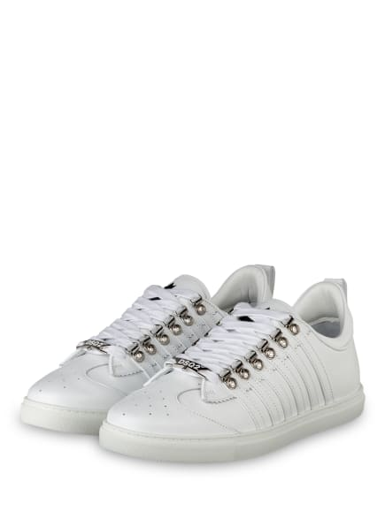 DSQUARED2 Sneaker 251, Farbe: WEISS (Bild 1)