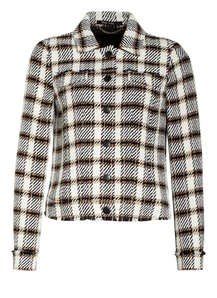 MARC AUREL Tweed-Blazer, Farbe: ECRU/ CAMEL/ SCHWARZ (Bild 1)