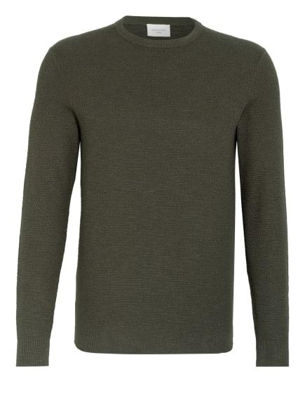 PROFUOMO Pullover , Farbe: DUNKELOLIV (Bild 1)
