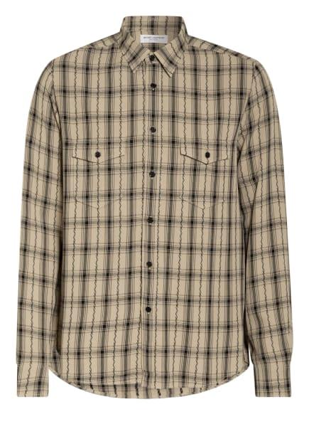 SAINT LAURENT Oversized-Hemd, Farbe: ECRU/ SCHWARZ (Bild 1)