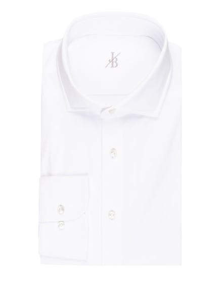 Jacques Britt Jerseyhemd SIENA Perfect Fit, Farbe: WEISS (Bild 1)