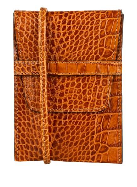 abro Smartphone-Tasche CAMILLA, Farbe: COGNAC (Bild 1)