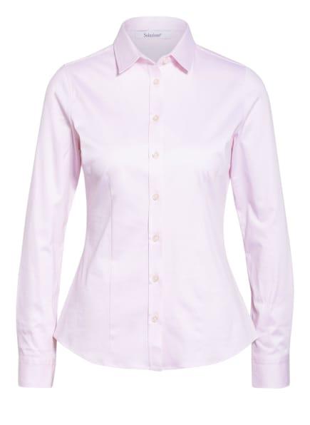 Soluzione Jersey-Hemdbluse, Farbe: HELLROSA (Bild 1)