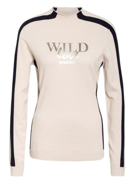 SPORTALM Pullover, Farbe: BEIGE/ SCHWARZ/ GOLD (Bild 1)