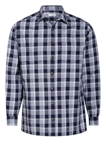 PAUL Flanellhemd Regular Fit , Farbe: DUNKELBLAU/ HELLLILA/ WEISS (Bild 1)