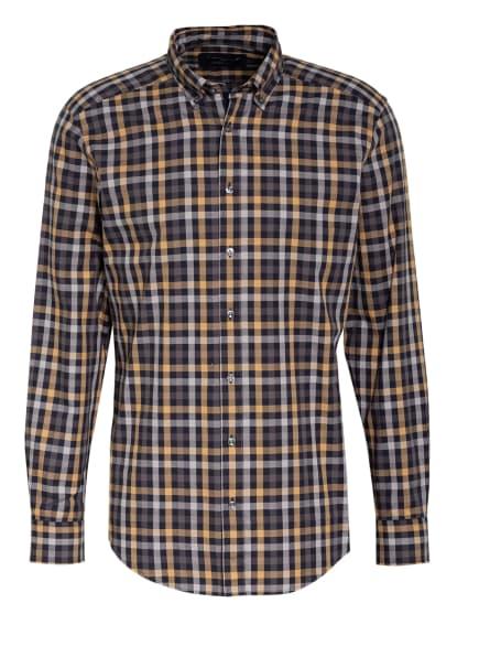 STROKESMAN'S Hemd Regular Fit, Farbe: DUNKELBLAU/ BEIGE/ HELLGRAU (Bild 1)