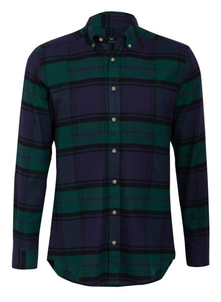 STROKESMAN'S Flanellhemd Regular Fit , Farbe: DUNKELBLAU/ GRÜN/ SCHWARZ (Bild 1)