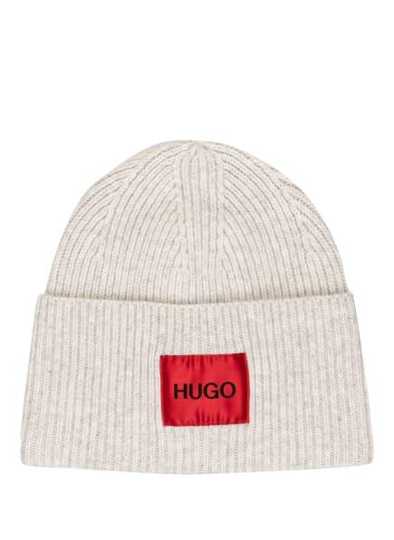 HUGO Mütze XAFF, Farbe: HELLGRAU/ ECRU (Bild 1)